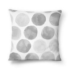 Compre Poá Cinza de @chamomiledesign em almofadas de alta qualidade. Incentive artistas independentes, encontre produtos exclusivos.