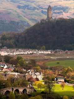 Stirling, Scotland » by ifilson via Flickr. One of my town's founders was from Stirling. Our town is named for his home in Scotland, though the spelling is slightly different.