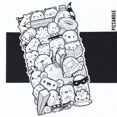 126 best pic candle doodles images doodle drawings kawaii doodles rh pinterest com