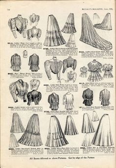 """Fashion in the period in European and European-influenced countries continued the long elegant lines of the Tall, stiff collars characterize the period, as do women's broad hats and full """"Gibson girl"""" hairstyles - Londonderry sleeves but not her pants 1890s Fashion, Edwardian Fashion, Vintage Fashion, Historical Costume, Historical Clothing, Belle Epoque, Style Édouardien, A Little Night Music, Gibson Girl"""