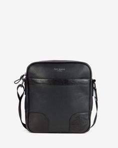 Embossed flight bag - Black | Bags | Ted Baker ROW