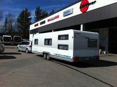 Pian taas pääsee matkalle! Ensin tarkastukset Jyväs-Caravanilla Recreational Vehicles, Campers, Motorhome