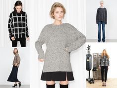 Knitwear proposti da Zara, &OtherStories, e SHIRTAPORTER