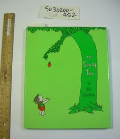SHEL SILVERSTEIN The Giving Tree 1964 Harper + Row RARE FIRST EDITION hb in dj