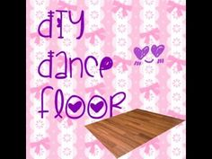 DIY portable dance floor - put this all together for about $100.  Looks awesome!