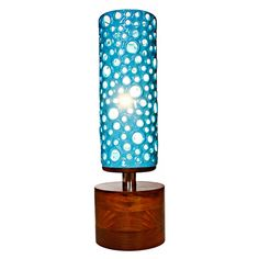 The Manhattan Lamp Blue