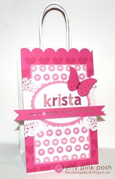 Decorated Gift Bag | Pretty Pink Posh