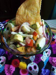 Ceviche With Sea Scallops - Hispanic Kitchen