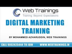 Online Digital Marketing Course - Digital Marketing Tutorial for beginners