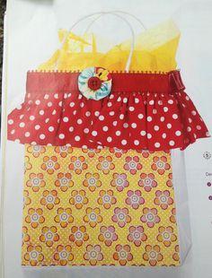 Cute gift bag.