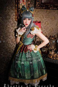 cosplay Criada Negro Kuro y Shiro algod/ón Lolita Medias