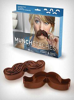 mustache cookie cutters $14