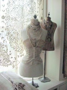 Dress Forms and Lace