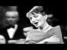 Maria Callas, Bellini's Casta Diva. PS: don't get out of sync with the music ... it makes the diva very upset (see the 3:00 mark). #opera
