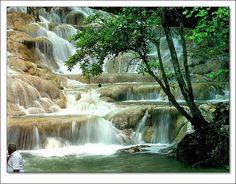 Dunn's River Falls, Jamaica by debra