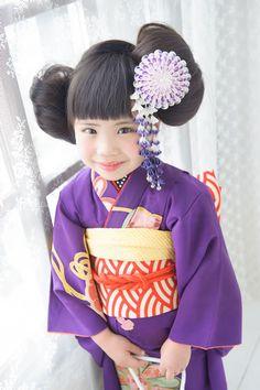 O昔紫奴(Oムカシムラサキヤッコ) - キモノガール|七五三アンティーク、作家キモノ|レンタル専門店