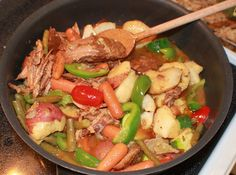 What's Cookin' Italian Style Cuisine: Lamb Stew Recipe