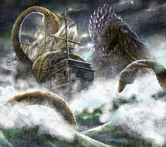 scylla and charybdis was being between a rock and a hard place but ...