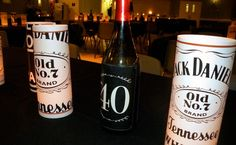 Jack Daniel's Inspired 40th Birthday Party