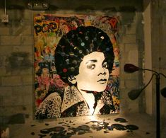 Art Basel.. Made from broken records! Mr. Brainwash.. BRILLIANT!