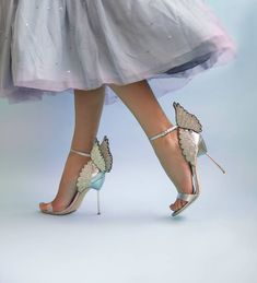 See the best Sophia Webster flats, heels, sandals and shoes at Your Next Shoes! Walking In High Heels, High Heels For Prom, Prom Heels, Sexy High Heels, Bling Heels, Stilettos, Pumps Heels, Cute Shoes, Me Too Shoes