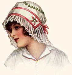 Hand Embroidery and Lace Ladies Hat
