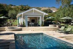 Braemar - traditional - pool - santa barbara - Pacific Architects, Inc.