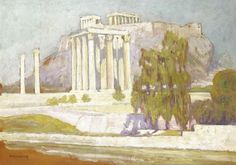 'Columns' by Constantine Maleas (1879-1928, Turkey)