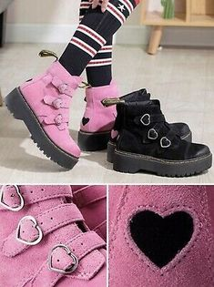 Suede Shoes, Shoe Boots, Sperry Top Sider Boots, Old West Boots, Twisted X Boots, Scene Kids, Pastel Outfit, Kawaii Accessories, Martin Boots