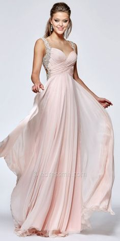 Be a show stopping Grecian goddess at your next party in this Enrica Evening Dress by Tarik Ediz. #edressme