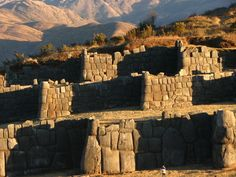 """Sacsayhuamán, Cusco, Peru - Incan Ruins. If you can't remember how to pronounce it, it sounds like """"sexy woman."""""""
