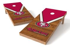 San Francisco 49ers Cornhole Board Set - Uniform