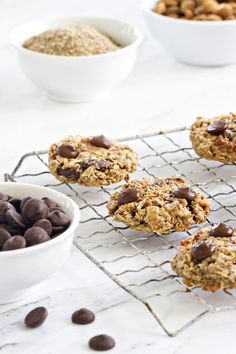 Chocolate Almond Breakfast Cookies are a fabulous way to start your day. A great…