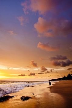 imagine the calming peace as we walk along hthe beach ...