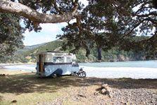Camping at Stony Bay campsite.