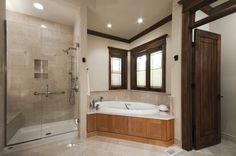Teak Shower Design, Pictures, Remodel, Decor and Ideas - page 58