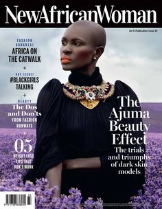 Ajuma Nasanyana who is also a one-time Vivienne Westwood muse, had an exclusive interview with the magazine to ask why there is lack of black models African Models, African Women, Muse, Jet Magazine, Models Needed, Fierce Women, Black Image, My Black Is Beautiful, Africa Fashion