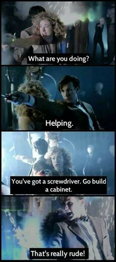 The Doctor and River at their best.