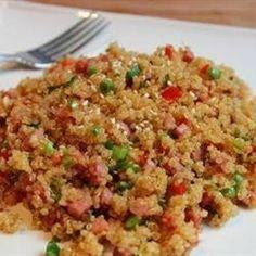 Pork Fried Quinoa Allrecipes.com