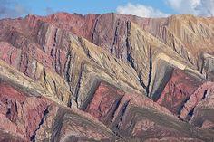 Amazing Geology: The Amazing Folded Mountain in Humahuaca (Photoes)