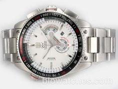 Tag Heuer Grand Carrera Calibre 36 Working Chronograph with White Dial