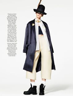 Ali Stephens Dons Buffalo Boy Style for Glamour France's May Issue by Jason Kim | Fashion Gone Rogue: The Latest in Editorials and Campaigns