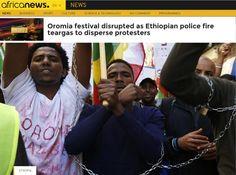 衣索比亞警驅散抗議反對黨至少50死 - 中央通訊社