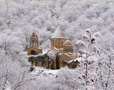 Dadivank monastery, Armenia