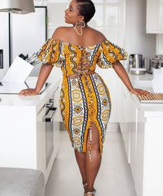 Short African Dresses, Latest African Fashion Dresses, Modern African Print Dresses, Ankara Fashion, African Inspired Fashion, African Print Fashion, Fashion Prints, Fashion Art, Kente Dress