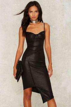 Alexandria Asymmetric Dress