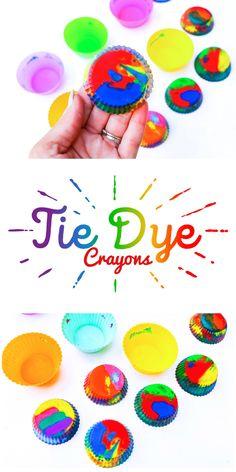 Tie-Dye Crayons
