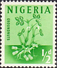 Nigeria 1961 SG 89 Groundnuts Fine Used Scott 101 Other Nigerian Stamps HERE