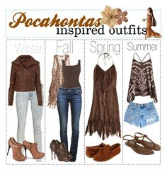 This is our Disney Pocahontas inspired outfit. Our first outfit is Our second outfit is Our third outfit is and our fourth outfit is Disneybound Outfits, Disney Princess Outfits, Disney Themed Outfits, Disney Dresses, Disney Clothes, Princess Inspired Outfits, Character Inspired Outfits, Disney Inspired Fashion, Disney Fashion