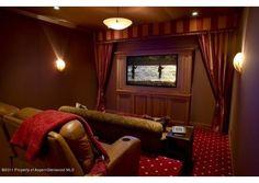 Home theater in Aspen, CO.  $9,500,000